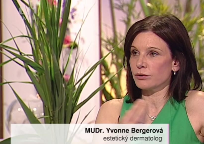 """>MUDr. Bergerová na ČT1 v pořadu """"Sama doma"""" (3. část)"""