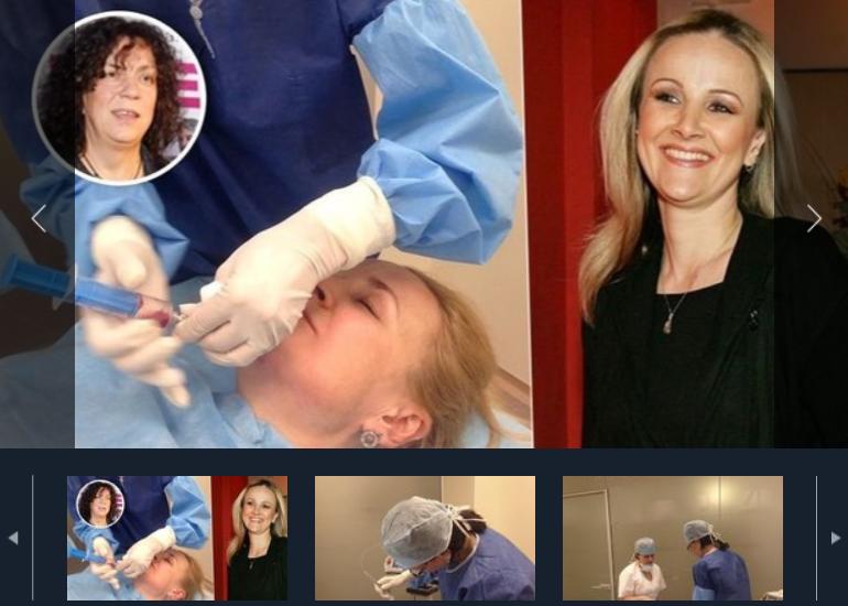 >Linda Finková si nechala odstranit druhou bradu laserem