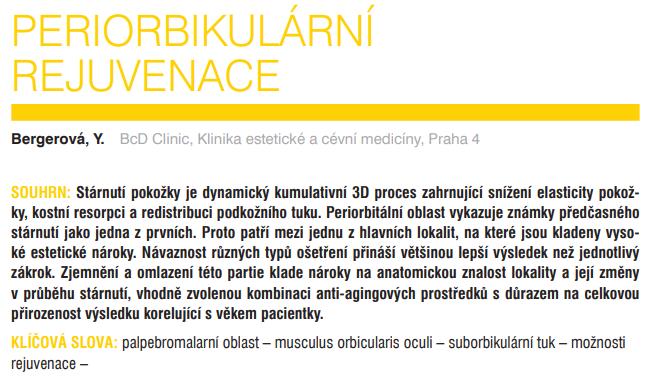 >Referátový výběr z dermatovenerologie